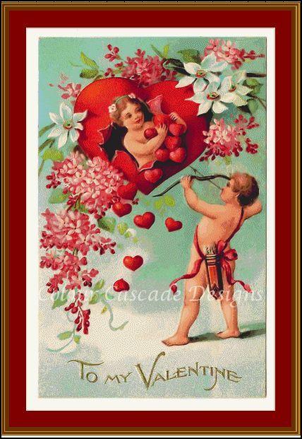 watermarked Vintage Valentine