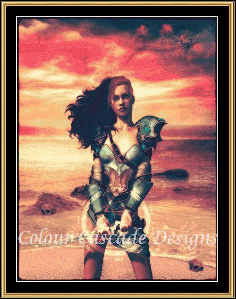 watermarked Dragon Warrior