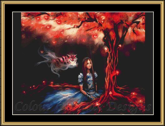 Alice at the Red Tree