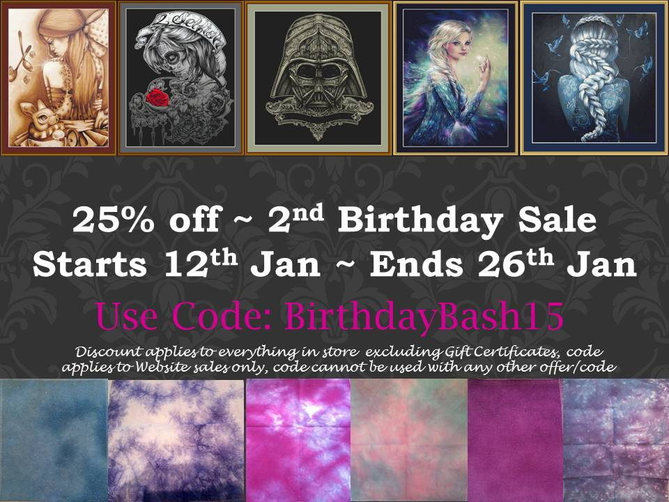 birthday sale chart