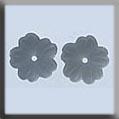 Petite Flower Matte Silver ~ 12118