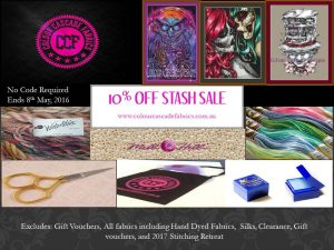 10% off Stash sale