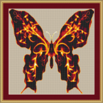 flaming-butterfly