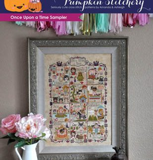 The Frosted Pumpkin Stitchery