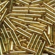 Victorian Gold Bugle Beads ~ 82011