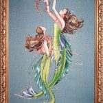 Mermaids of the Deep Blue