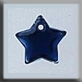 Small Flat Star Royal Blue ~ 12173