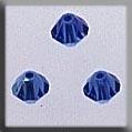 Rondele Sapphire AB 4mm ~ 13033
