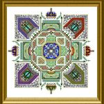 Royal Tudor Mandala