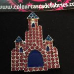 Rhinestone Castle Needleminder