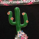 Enamel Cactus Needleminder
