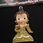 Rhinestone Princess Needleminder