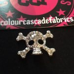 Rhinestone Mini Skull Needleminders