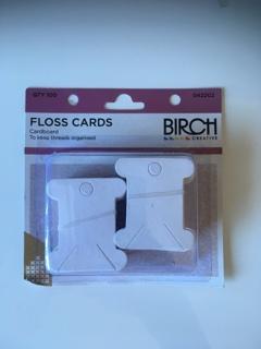 Cardboard Floss Bobbins