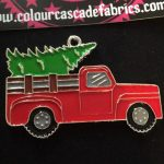 Pick Up Truck with Christmas Tree Needleminder