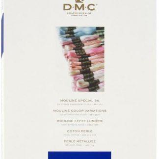 DMC Colour Card with Real Threads