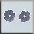 Very Petite Flower Matte Sapphire ~ 12149