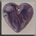 12099 ~ Medium Quartz Heart Purple