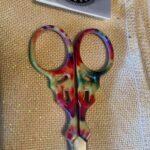 Tie Dye Scissors